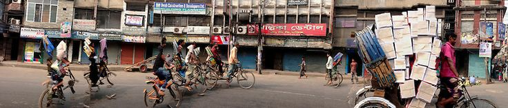 DHAKARAMA is a photographic exhibition of street panoramas of Dhaka by London based Photographer / Filmmaker / Artist : Enamul Hoque.   Hoque regularly visits Dhaka and continues to experiment and push the boundaries of mobile digital technology in archiving and creating an intimate portrait of an evolving megacity.    Enamul Hoque - Photographer / Filmmaker / Artist