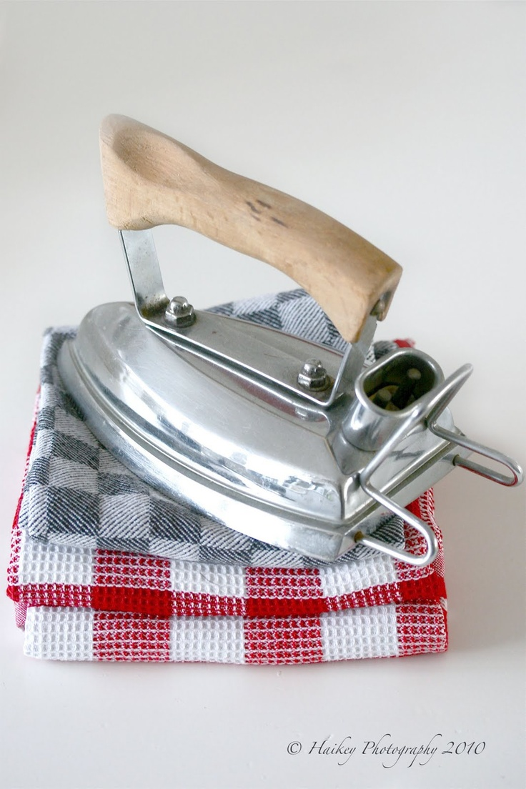 I used an iron like this the one I had before it was gas and before that one that had to be heated on the fire