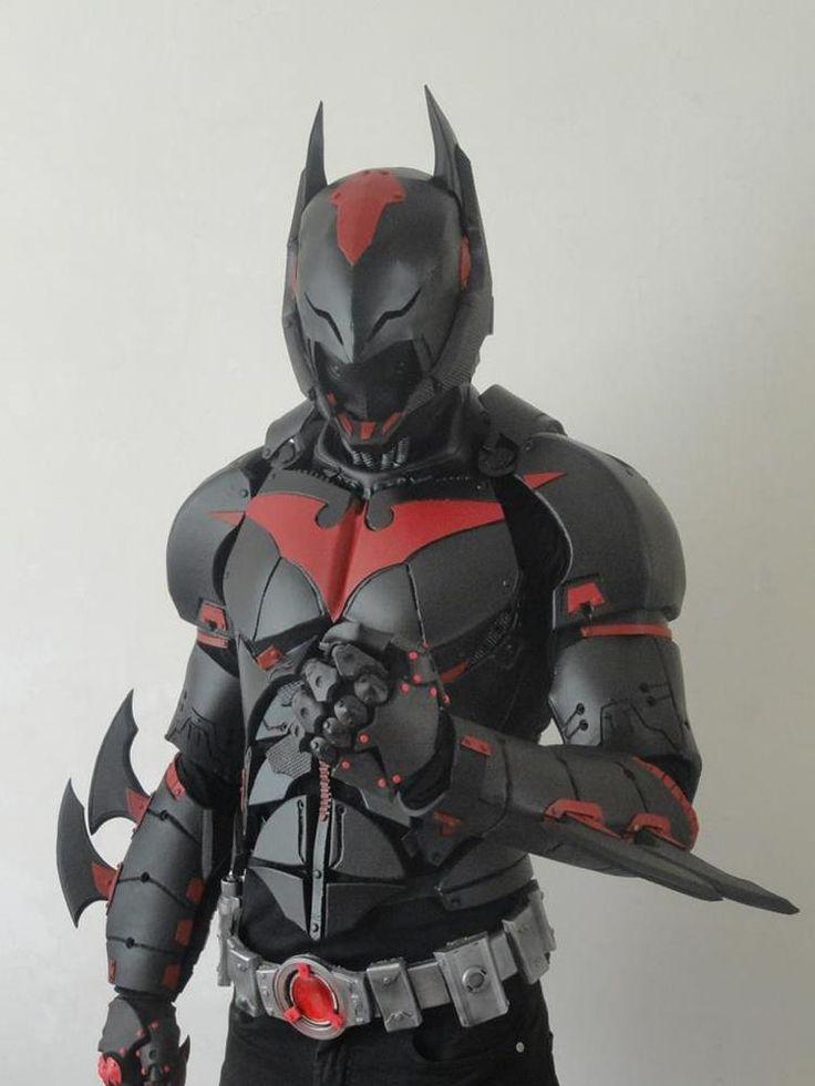 Cosplayer cria armadura incrível inspirada em Batman do Futuro! - Legião dos Heróis