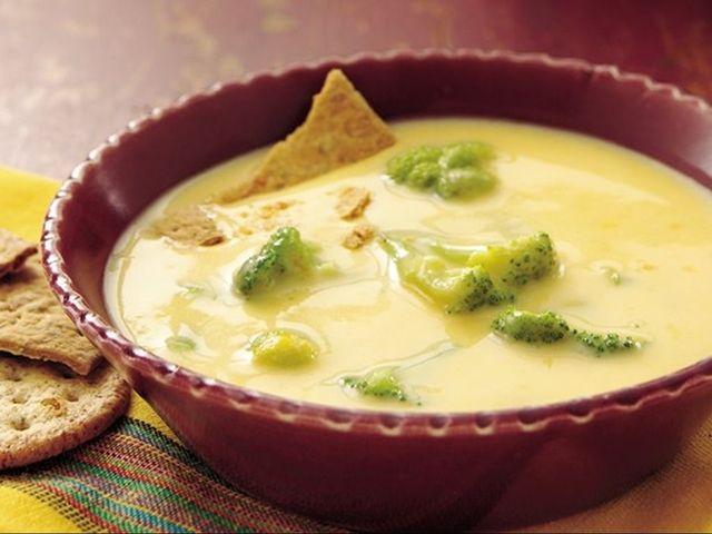 Sytá, vynikající krémová polévka.