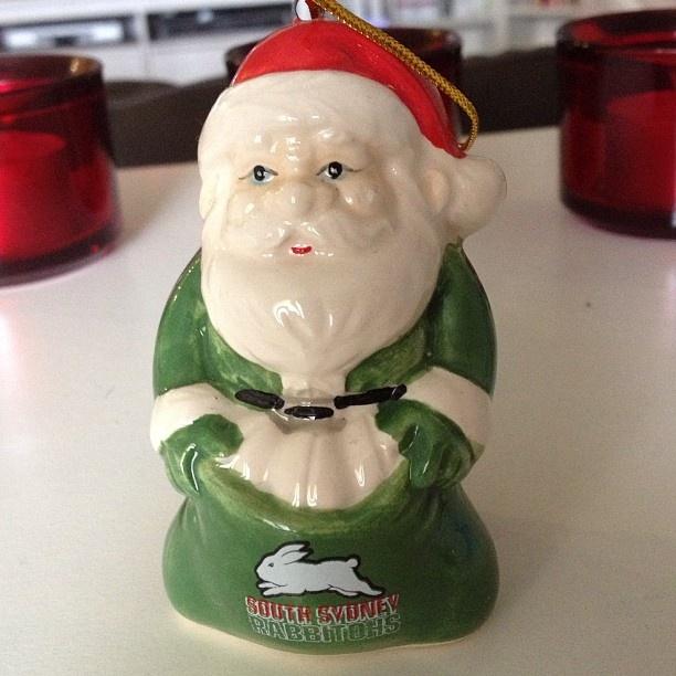The best Santa! thanks to @rabbitoh on instagram
