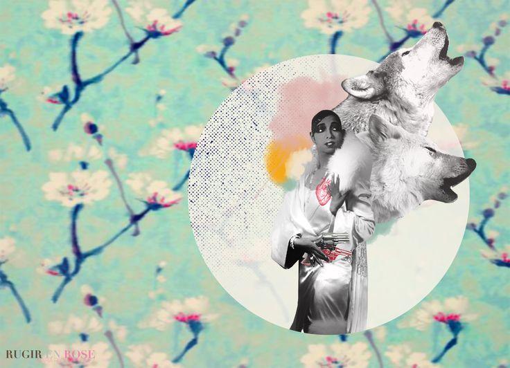 """Serie """" Bonita no quiere decir Tonta"""" Joséphine Baker & Los Lobos 2/20 Bailarina, Cantante, Actriz y Espía Baker se convirtió en un icono musical y político internacional. Se le dio apodos tales como la """"Venus de bronce"""", la """"Perla negra"""" y la """"Diosa criolla"""". También es conocida por sus contribuciones al movimiento por los derechos civiles en Estados Unidos y por ayudar a la resistencia francesa durante la Segunda Guerra Mundial, recibió la Croix de guerre."""