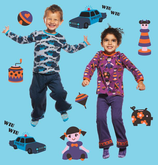 ej sikke lej TOYLAND collection aw13 - POLICE and PLAYROOM prints