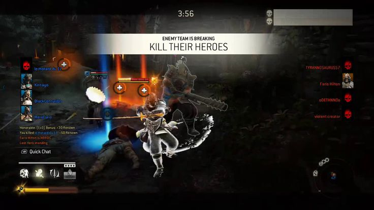 For Honor. Never give up I was the last Samurai.