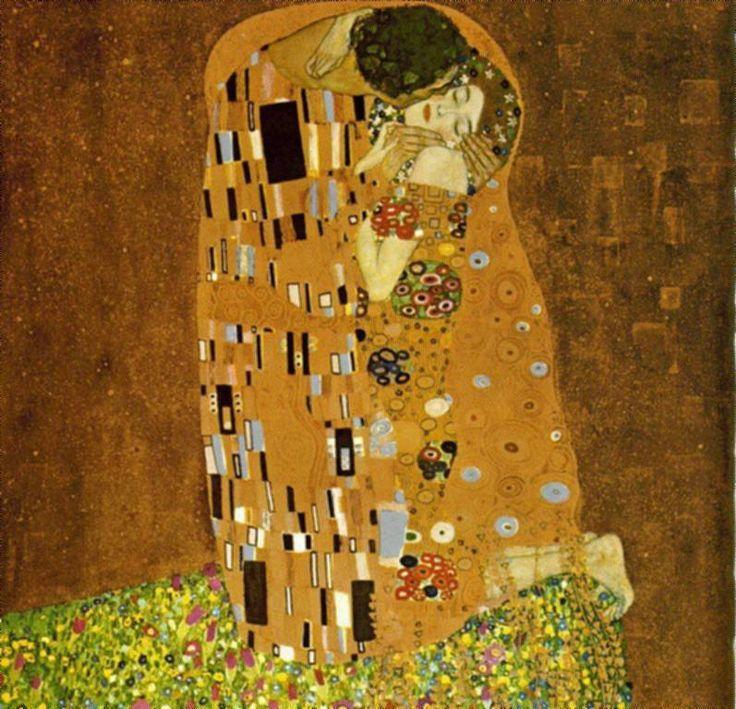 Gustav Klimt: Kiss, 1908-1909.