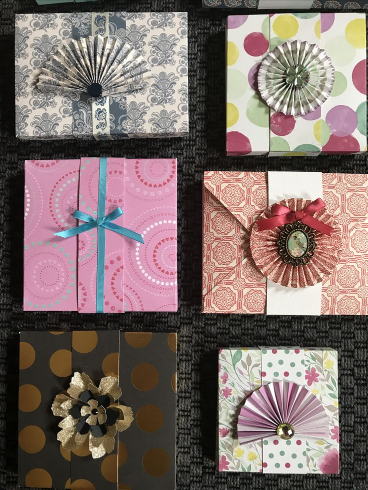Boxed gift cards