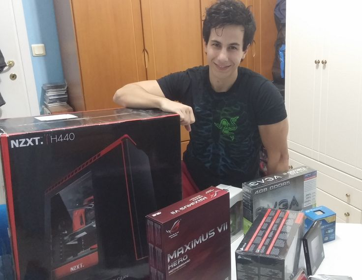 ..about an our before that awesome pc build! Stay tuned : www.facebook.com/PCWhisperer.gr