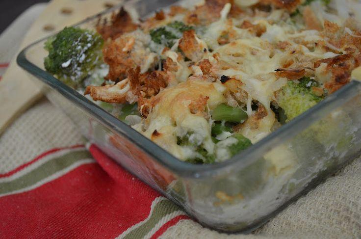 MY FOOD или проверено Лизой: Куриная запеканка с брокколи