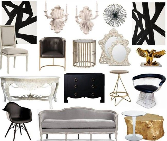 474 Best Edgy Glam Interior Design Images On Pinterest