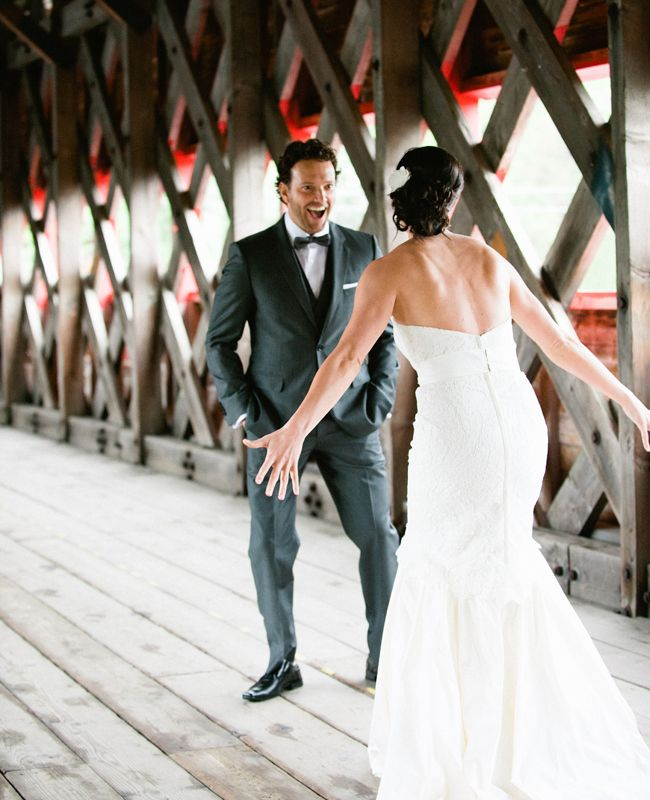 This first look photo makes me smile :) // AMBphoto // 16 First Looks You Don't Want to Miss: