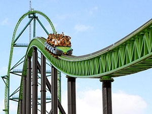 Kingda Ka. Six flags NJ. The world's tallest steel roller coaster and the second fastest.