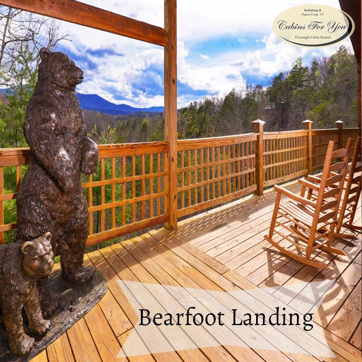 If Youu0027re Traveling With A Large Group To The Smokies, Look No Further Than  Bearfoot Landing For A Comfortable And Enjoyable Smoky Mountain Stay.
