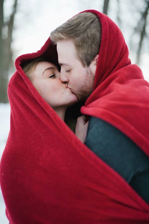 Winter Couples Photography