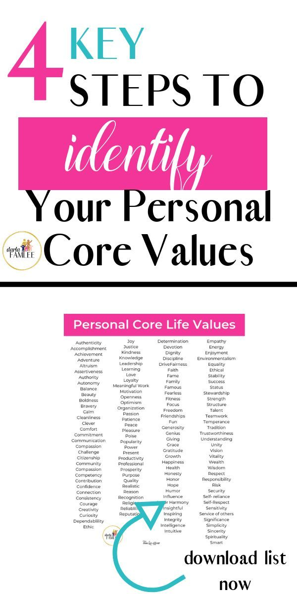 what does core value means