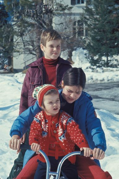 Andrea Casiraghi baby: A look back through the Monaco royal family album - Photo 1 | Celebrity news in hellomagazine.com