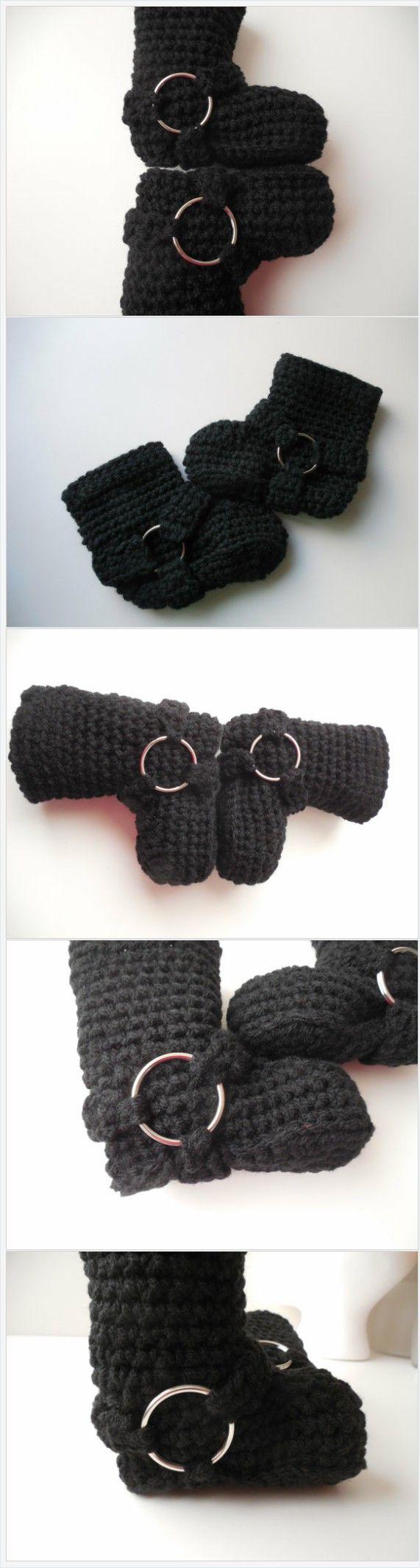 Biker Baby Booties - Black - Crochet - Handmade - Biker Baby Photo Prop - Made to Order https://www.etsy.com/listing/186976109/