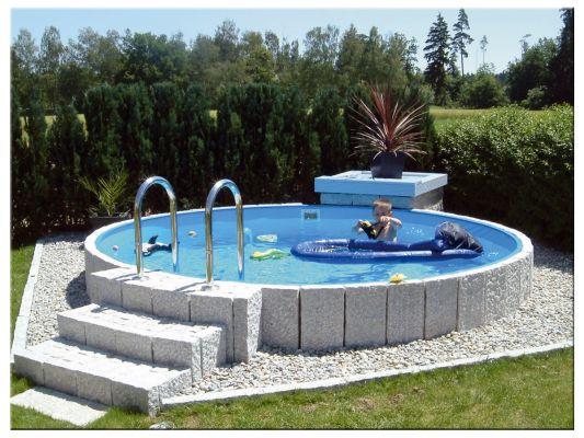 Pool Stahlwandbeckenset Höhe 0,90m – Rundbecken 2,00m – Stefanie Frommberger