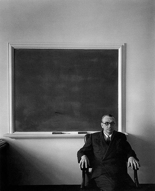 Kurt Gödel at Princeton, 1956 Archivo Dr. ADOLFO VÁSQUEZ ROCCA