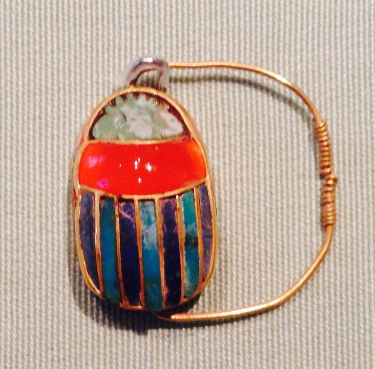 Ring - Ancient Egyptian jewellery exhibited at the Metropolitan Museum, NYC