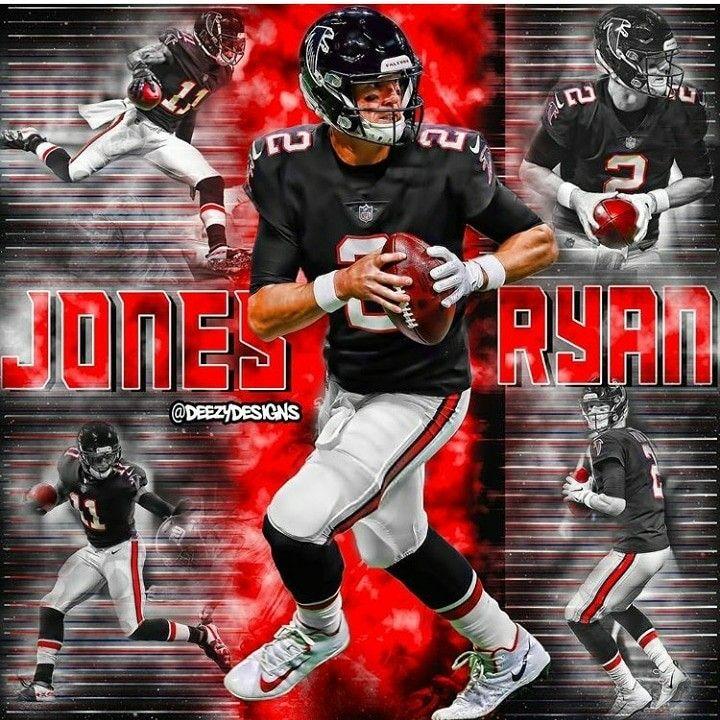 Matt Ryan Falcons Graphic Design Student Julio Jones Falcons Atlanta Falcons Wallpaper
