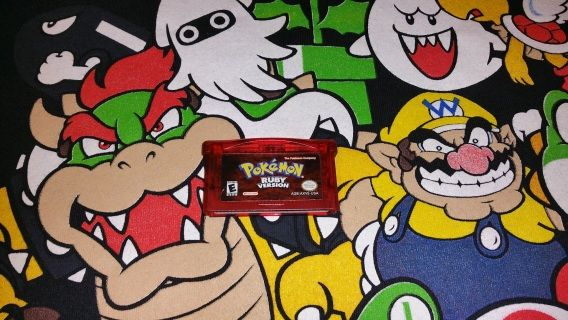 Pokemon Ruby Version for the Nintendo Game Boy Advance ( GBA ) Game has been tested and works Great!! Pins have been cleaned and inspected. *Ships in 1-2 business days.  *VGMerch Offers a 14 day Return Policy on all pre-owned items.