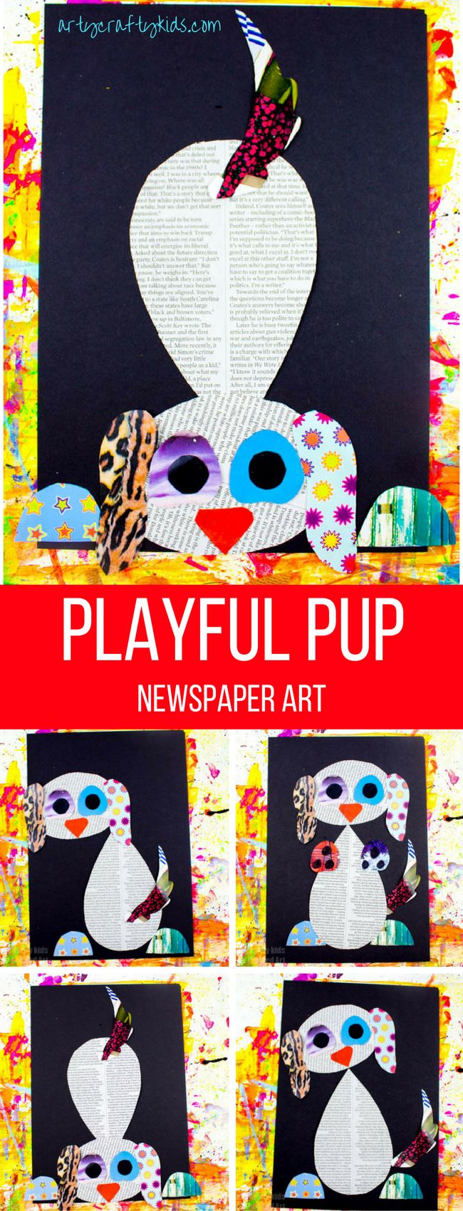 Arty Crafty Kids Art Playful