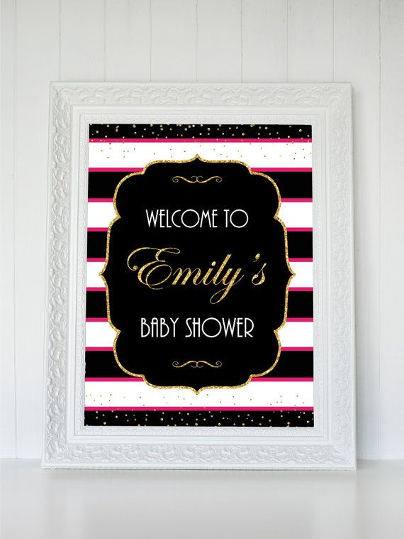 13 Best Baby Shower Signs Images On Pinterest Baby Shower Signs