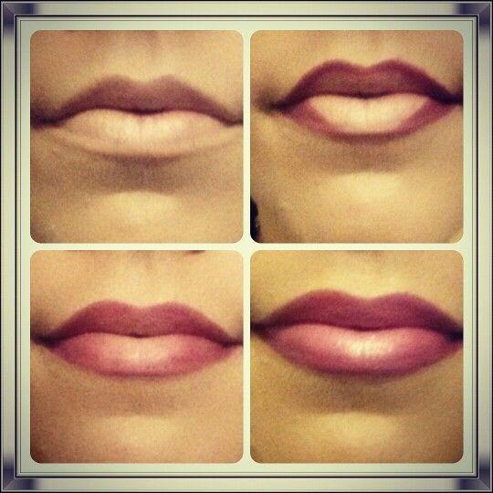 Bit of ombre lips