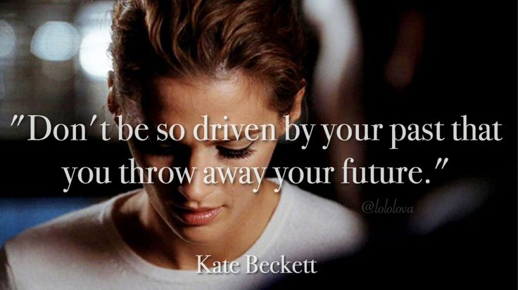 {Quote: Kate Beckett}