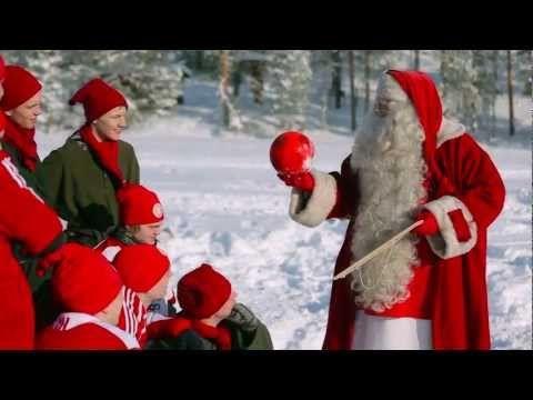 FC Santa Claus – Santa's football / soccer team in Rovaniemi in Lapland, Finland