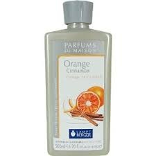 lampe berger oil orange cinnamon - I'm telling you you will not want to leave your house while this is wafting around... :)