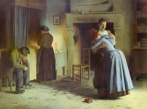 Mendilaharzu. Graciano Mendilaharzu. La vuelta al hogar (1885)