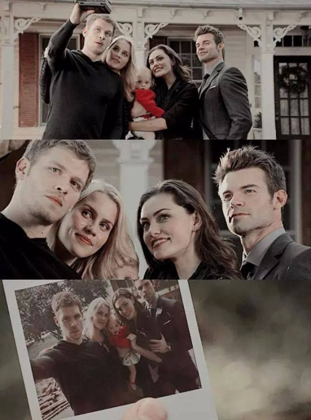 The Originals ... Klaus, Rebekah, Hope, Hayley and Elijah ... family pic