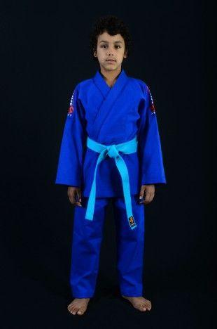 Kimono SARJA Azul - Produtos  Shitaya Bjj JiuJitsu ShitayaKimonos kimonosShitaya Kimonos brazilian jiu jitsu judo kids crianças