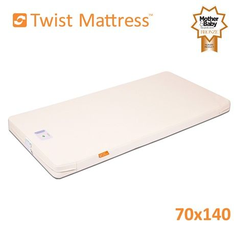 140 x 70 Cot Bed Mattress Twist Natural Latex | Cot Bed Mattresses from The Little Green Sheep, UK