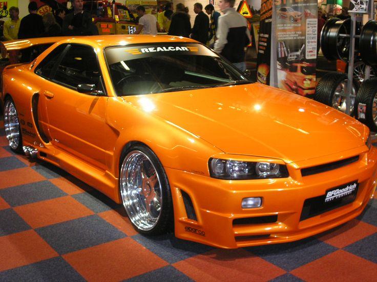2001 Nissan Skyline GT-R R34
