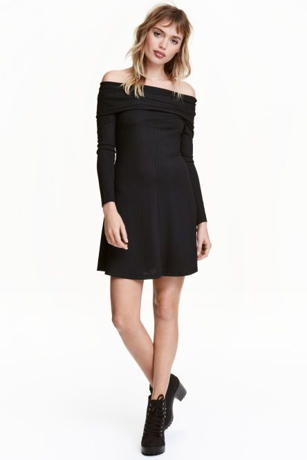 Vestido azul h&m x balmain collection