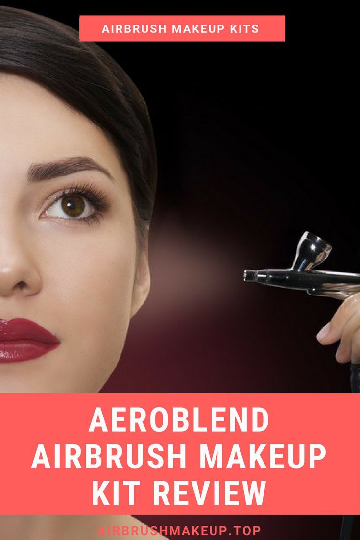 Aeroblend Airbrush Makeup Kit Review Airbrush Makeup For Wedding