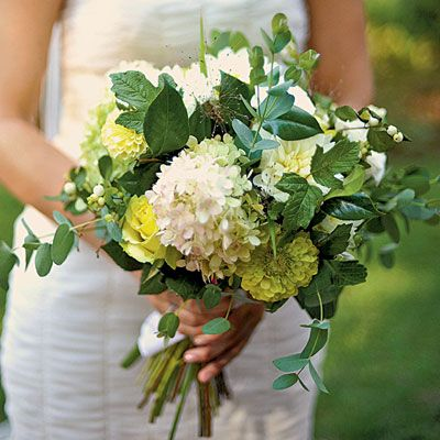 Flowers for spring wedding