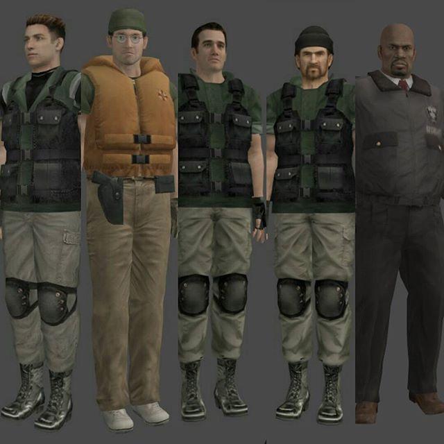 Resident Evil Outbreak #residentevil #ubcs #macdowell #mattfranklin #billy #clinthenderson #markwilkins #umbrellabiohazardcountermeasureservice