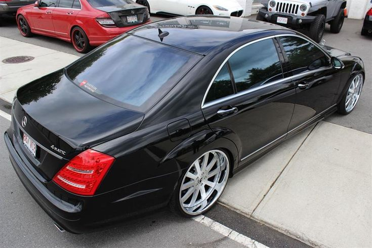 Mercedes S550 Forgiato's by Eastside Motoring in Waltham MA. Click to view more photos and mod info.