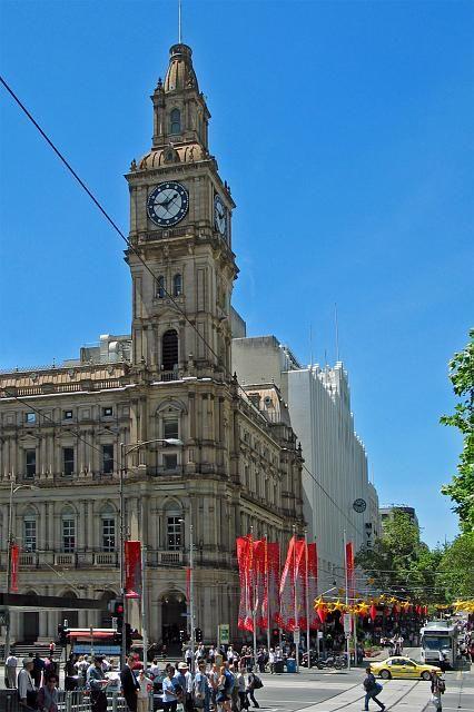 The GPO, corner of Bourke and Elizabeth Street; Melbourne.
