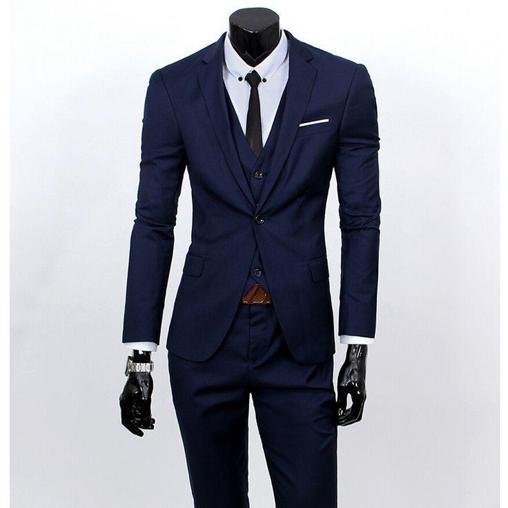 New-Men-Suits-One-Buckle-Brand-Suits-Jacket-Formal-Dress-men-wedding