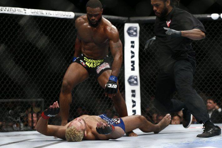 UFC 167 results: Tyron Woodley knocks out Josh Koscheck - MMA Fighting