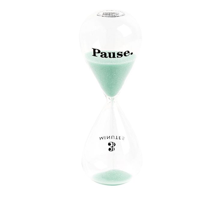 We live in a world in which we are constantly bombarded with digital distractions, while juggling busy schedules and never ending to do lists. Be inspired to pause and take just 3 minutes to be present, focus your energy and quiet your mind with this beautiful hourglass. Keep it on your desk or in your home to remind yourself to take a moment each day just for you.