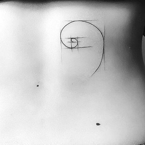 Prentresultaat vir golden ratio tattoos