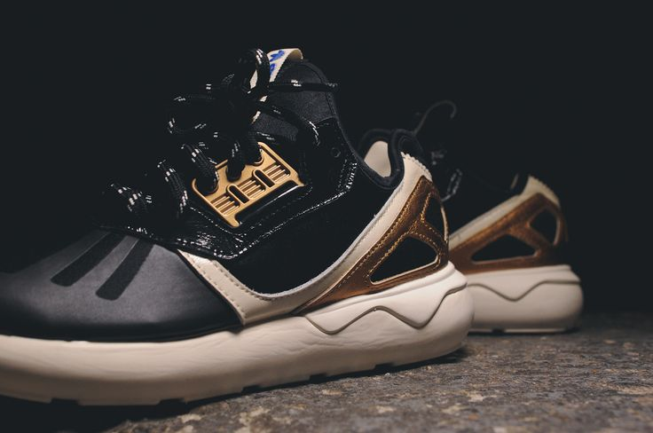 Adidas Tubular Black Gold