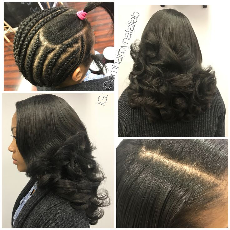 Sew-In Hair Weaves that actually look like your own real hair!!!! ...No HUMPS, No LUMPS, and No BUMPS! Flat, neat installs that you last up to two and a half months! ***Call or text Natalie B. at (312) 273-8693 to schedule your appointment!  IG: @iamhairbynatalieb FB: Hair by Natalie B.
