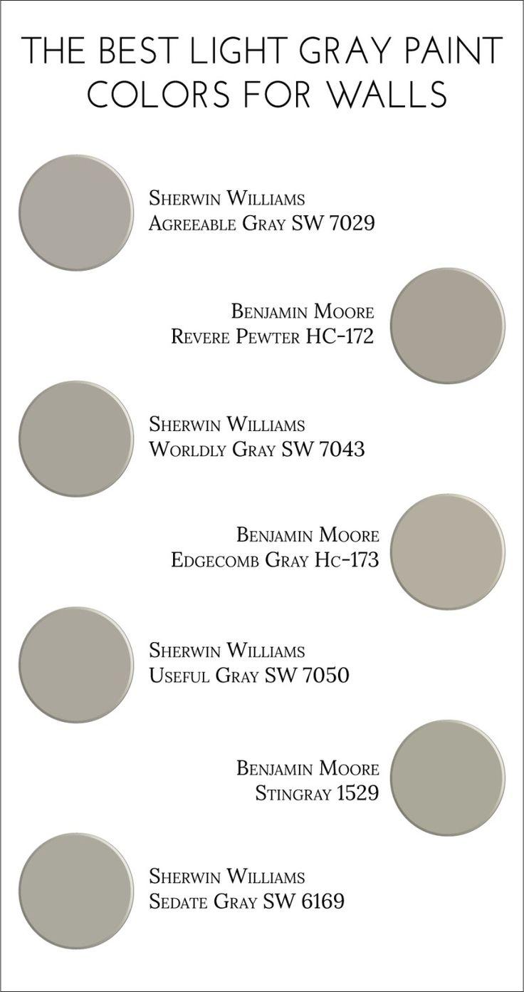 Rockport gray hc 105 paint benjamin moore rockport gray paint color - The Best Light Gray Paint Colors For Walls