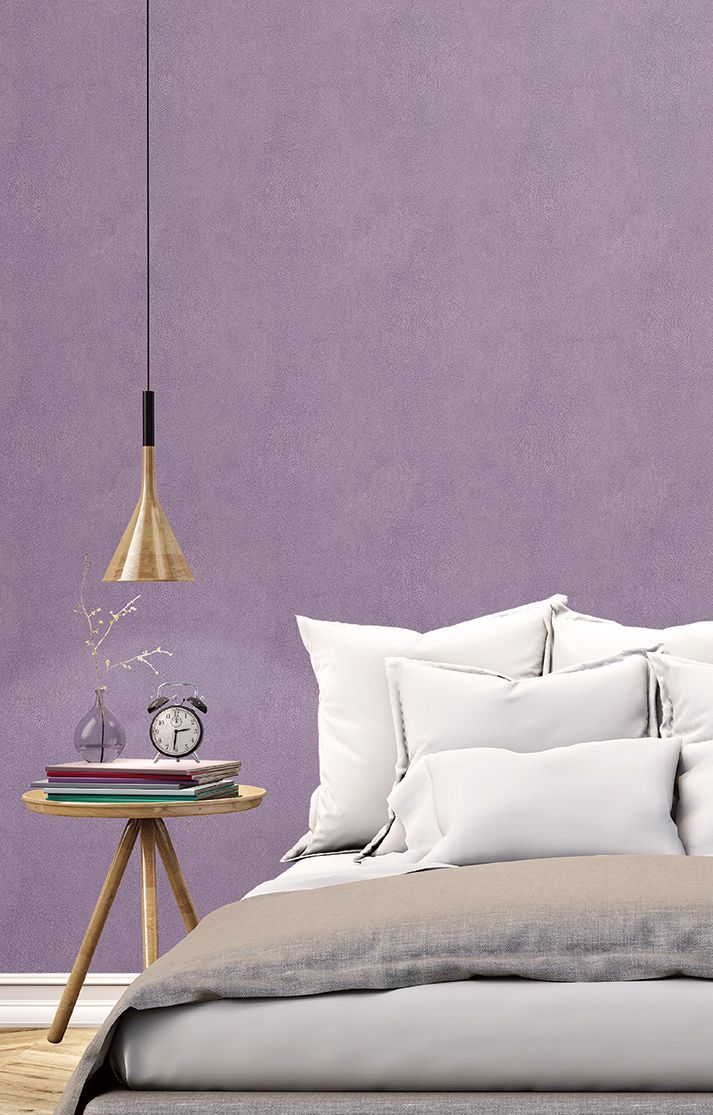 Purple textured wallpaper. Natural FX by Galerie - G67469R